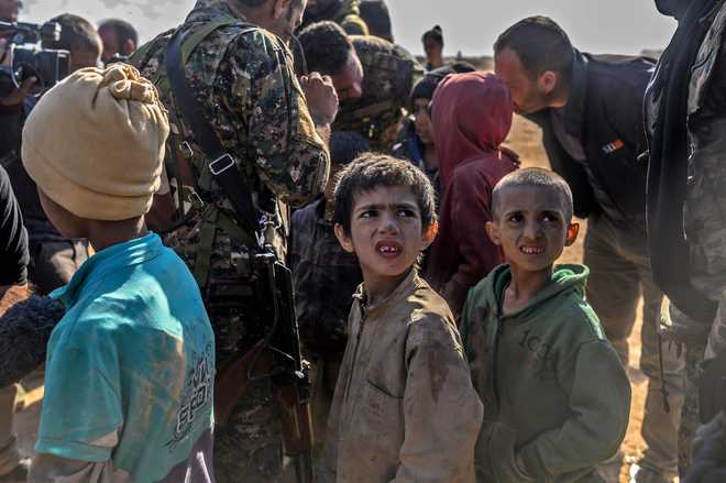'World Standing By As Kids Harmed By Conflict'