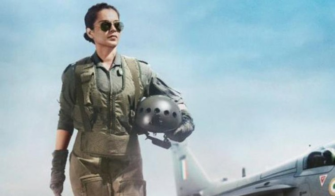 Kangana Shares First Look Of Tejas