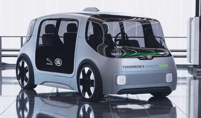 JLR Unveils New Driverless Concept Car
