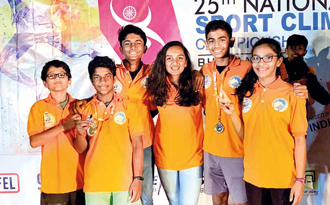 VVS Kids Are National Climbing Champs