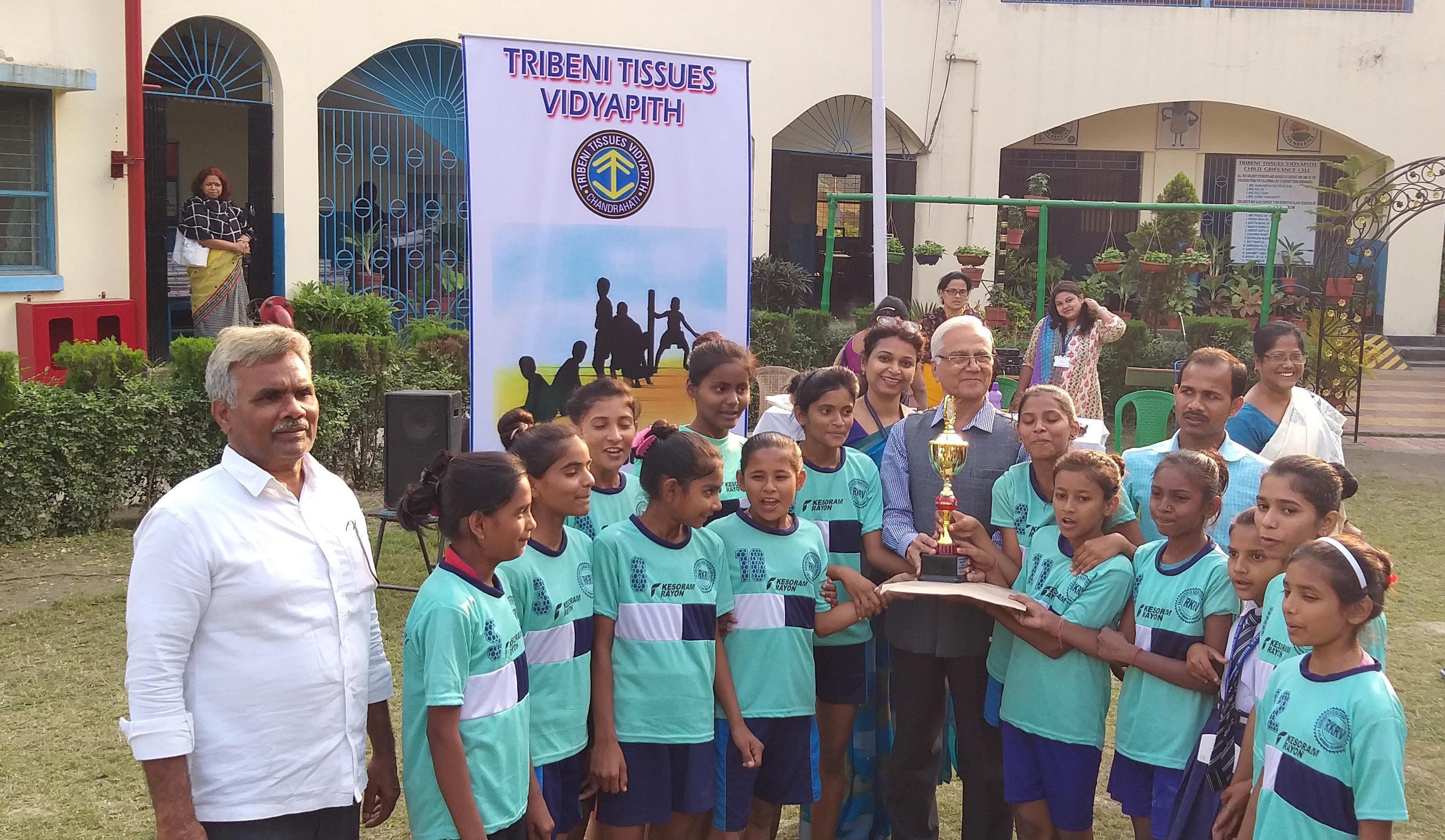 Inter-school kho kho contest at TTV