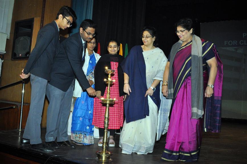 Special prayer service at Birla High School
