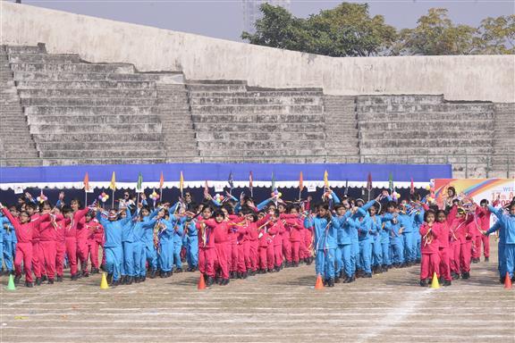 DPS Ruby Park hosts Annual Sports Meet
