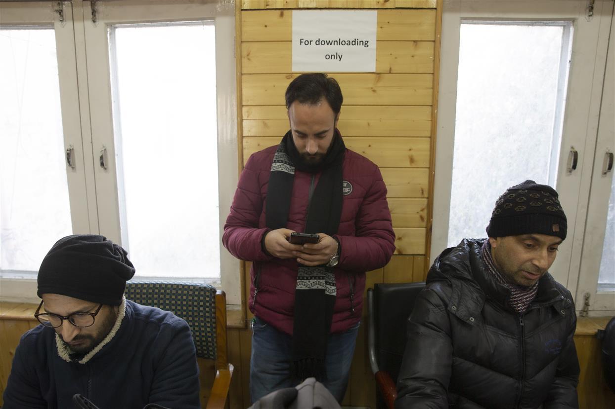 Social Media Curbs Lifted From Kashmir