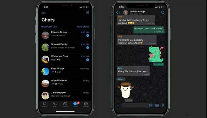 WhatsApp Goes Dark iPhone And Android