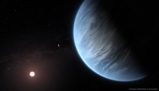 Astronomers Spot Large Exoplanet With Possible Living Conditions
