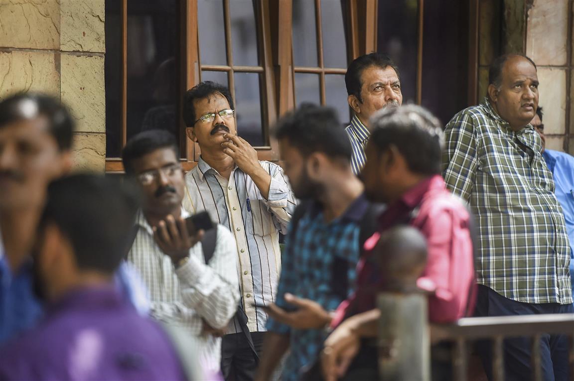 Sensex 2,400 Points Down Amid Coronavirus Crisis