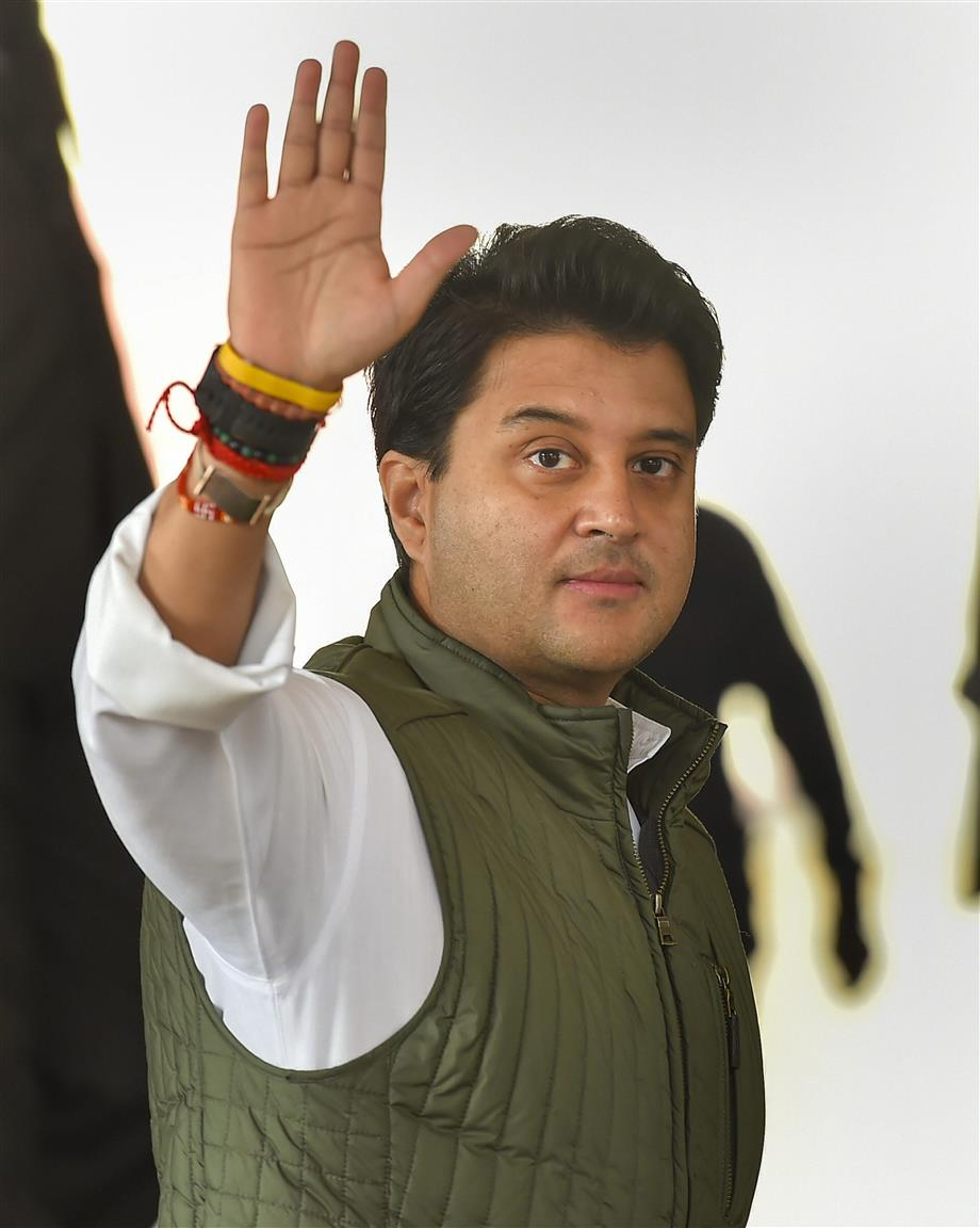 Jyotiraditya Scindia To Join BJP Today