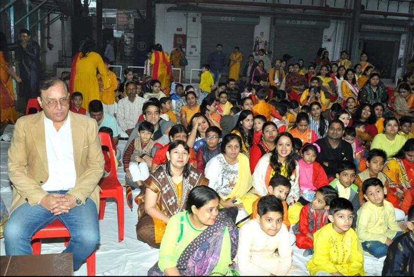 BHS Junior Section celebrate Saraswati Puja