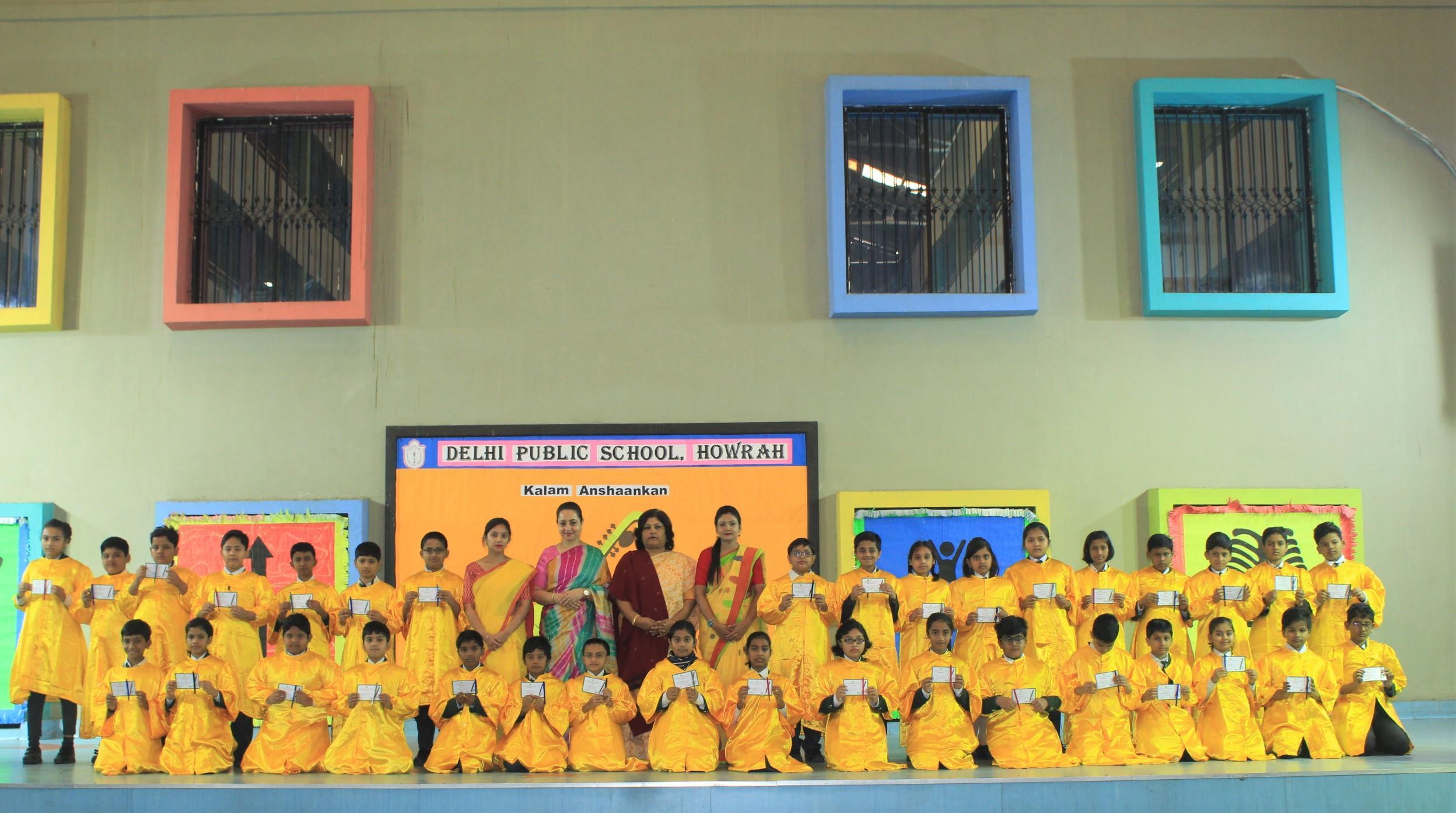 'KalamAnshaankan' at Delhi Public School, Howrah