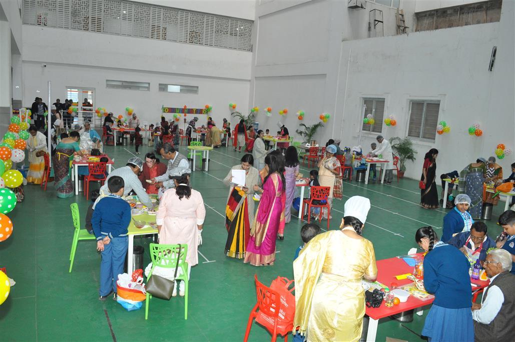 Birla High School Mukundpur's January activities