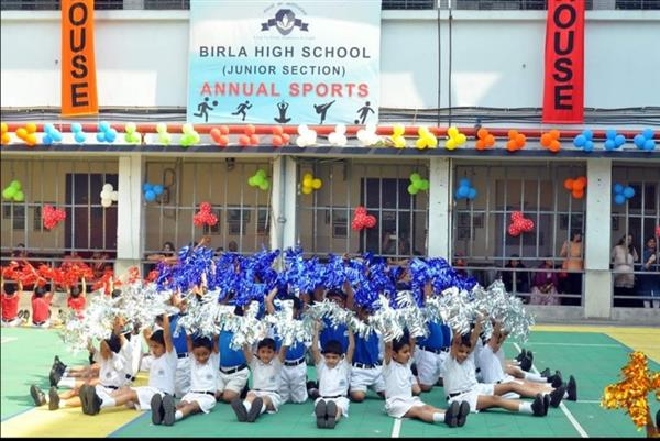 Annual sports day for BHS Jr Sec students