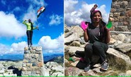 India's Bhawna Scales Oz's Highest Peak