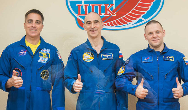 Space Station Crew To Blast Off