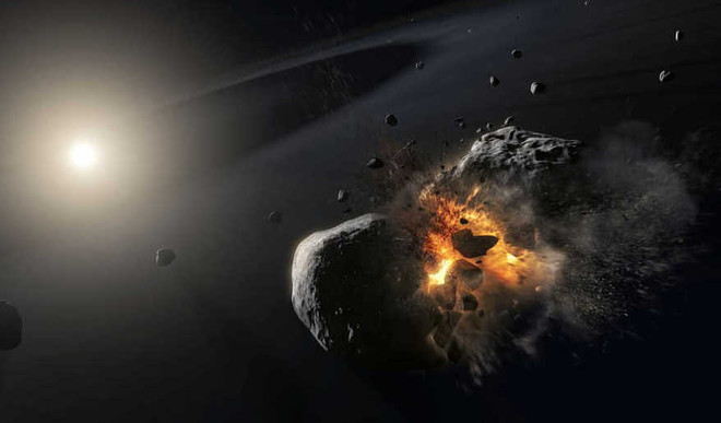 Scientists Decode A Celestial Smash-Up