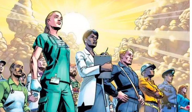 Marvel's Ode To Frontline Workers