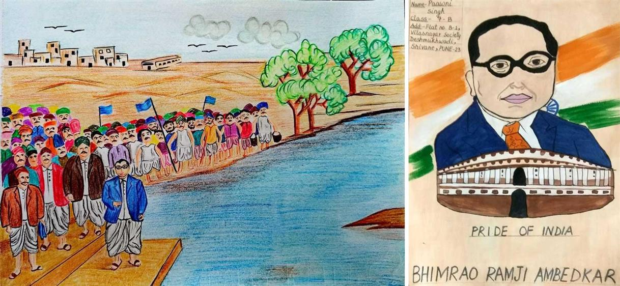 KV NDA Participates In E-drawing Contest