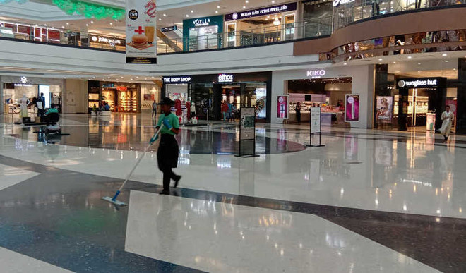 Is it a good idea to open public places like malls?