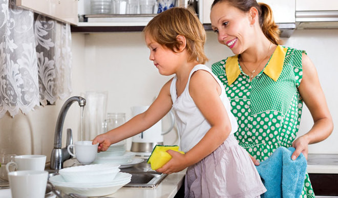 Do You Help Your Mom In Household Chores?