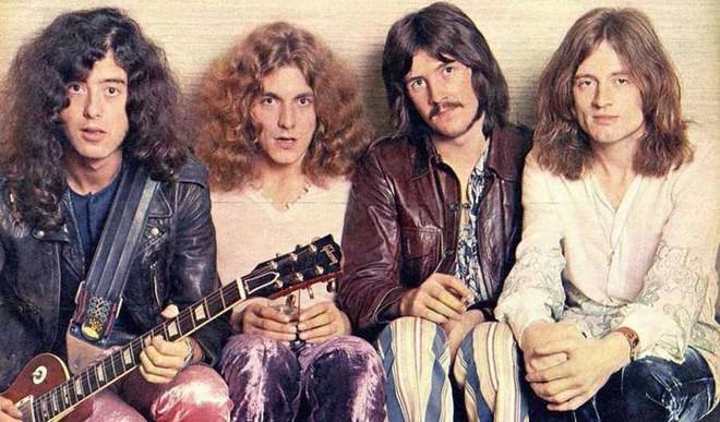 Led Zeppelin's Album Art Under Hammer