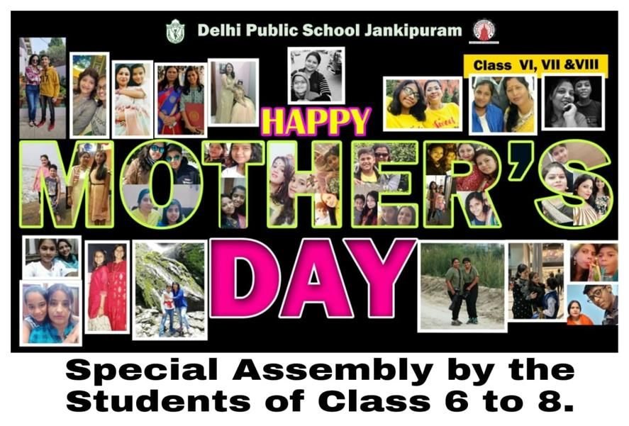 Mother's Day At DPS Jankipuram