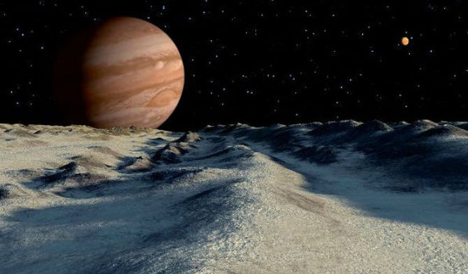 Evidence Of  Water On Jupiter's Moon?