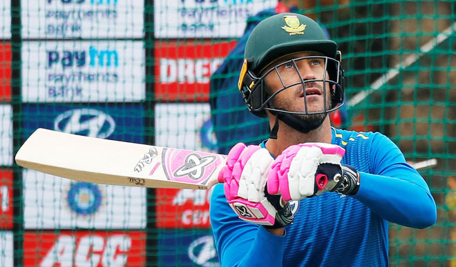 Faf Suggests Isolation For Players