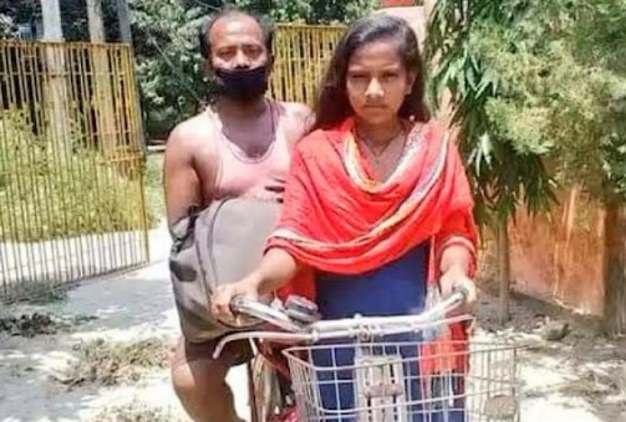 Teen Rides Father From G'Gram To Bihar