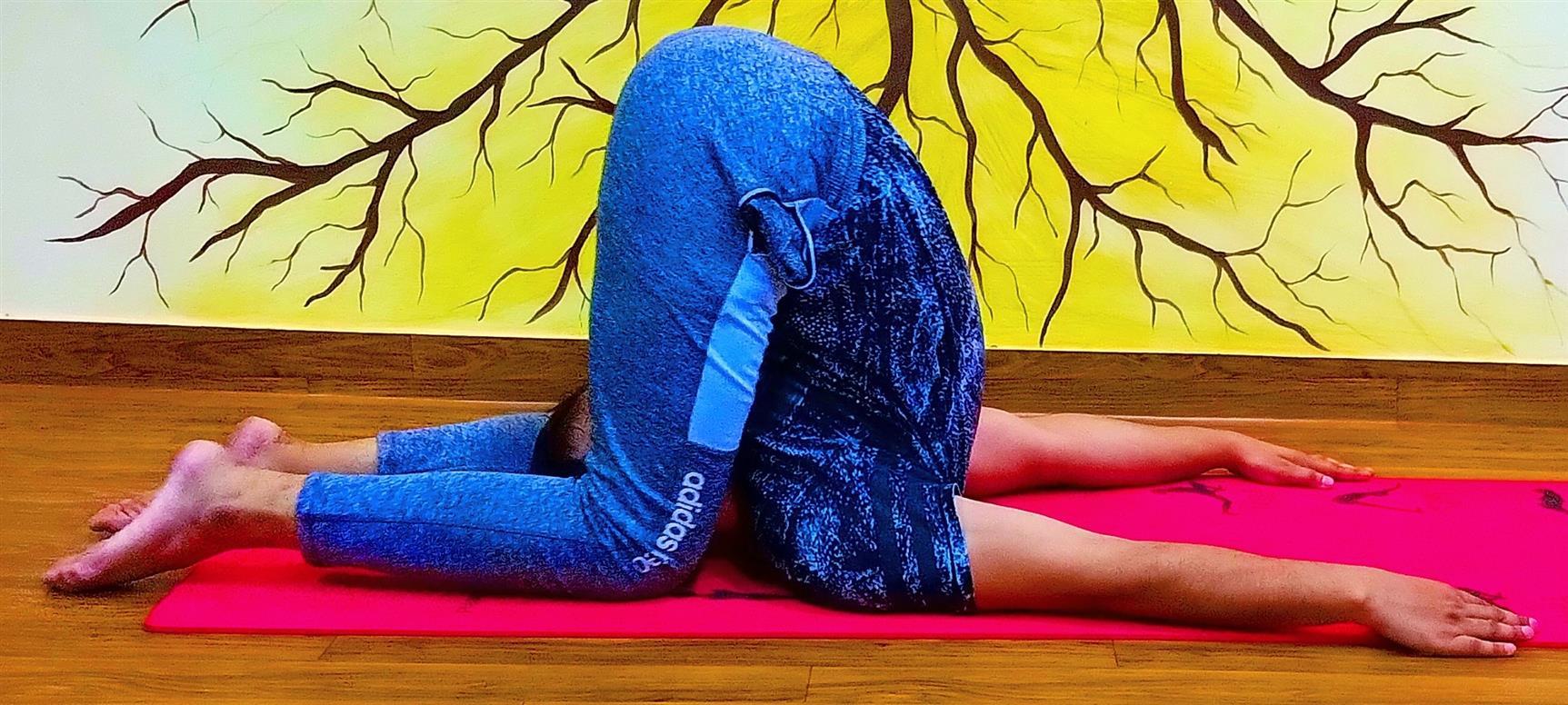 Karnapidasana: Yoga Pose In Rage