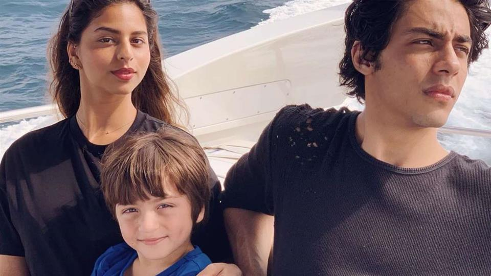 Suhana Shares Her B'Day Card From AbRam