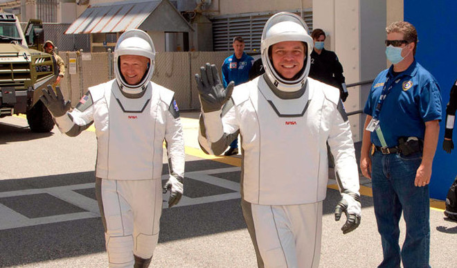 SpaceX's Sleek Spacesuit