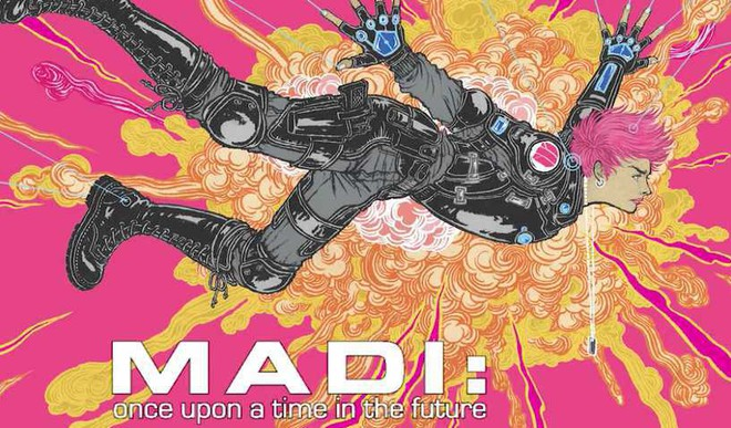 Madi Completes Mooniverse Trilogy
