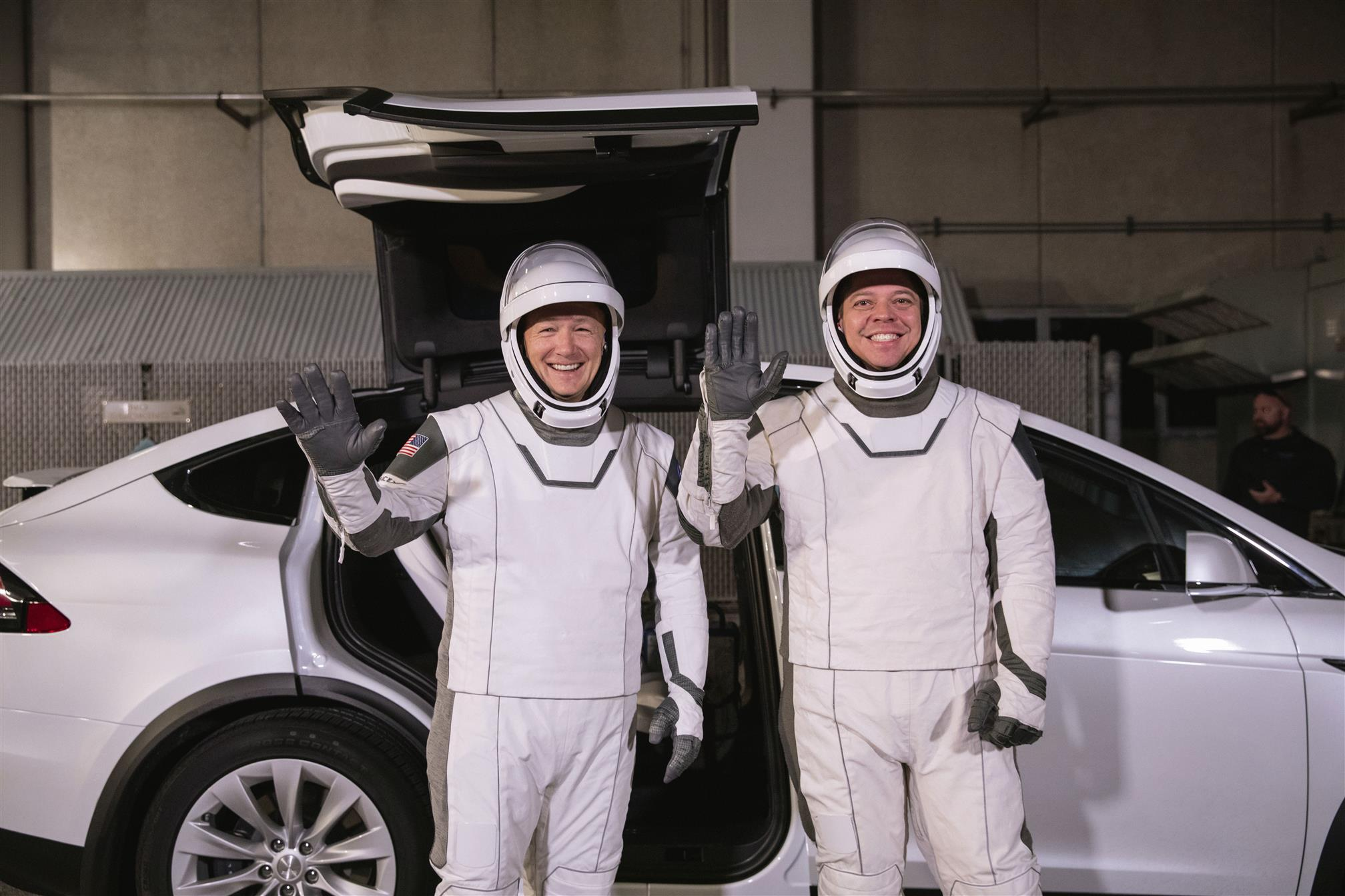 Space X's Astronauts Gear Up In Style