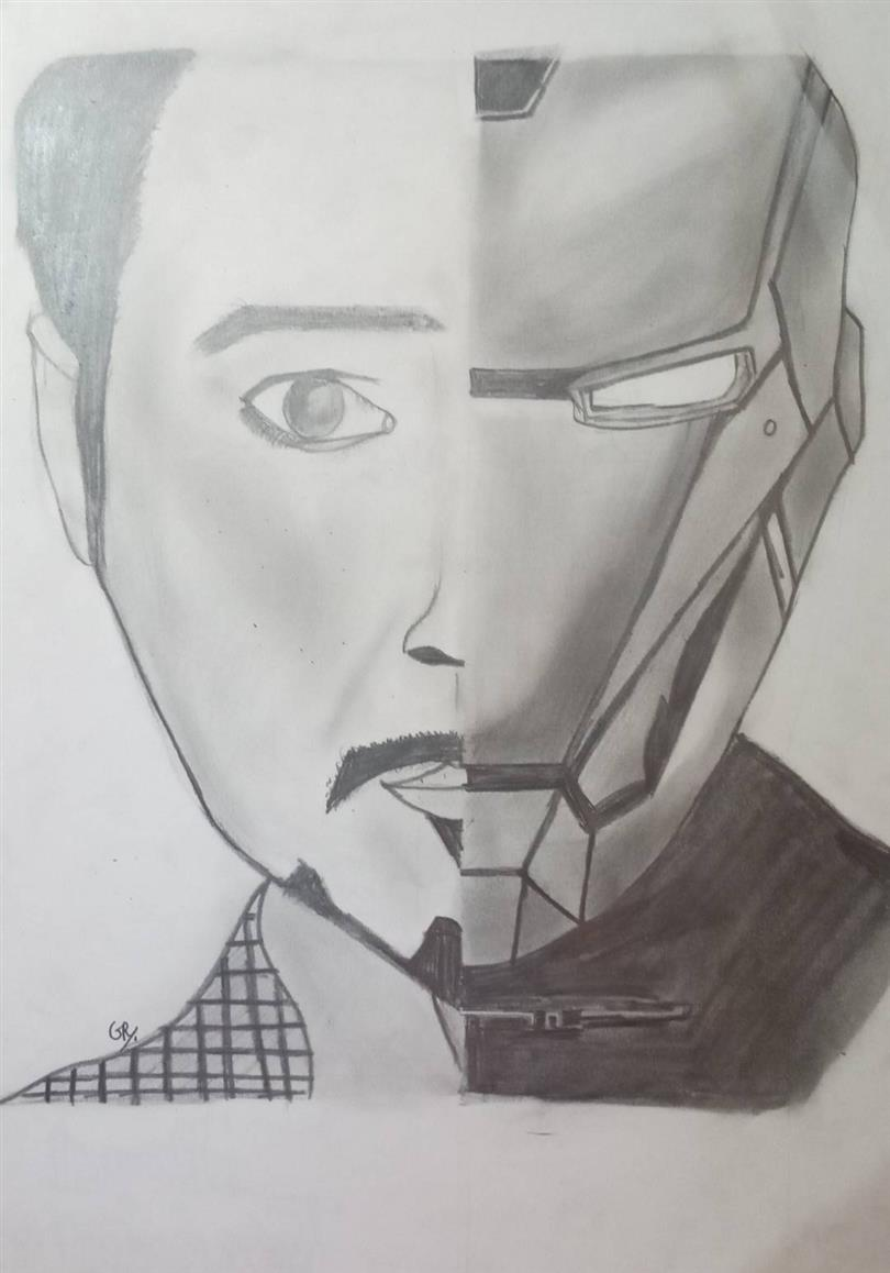 TONY STARK-IRON MAN: Gowri Raaj
