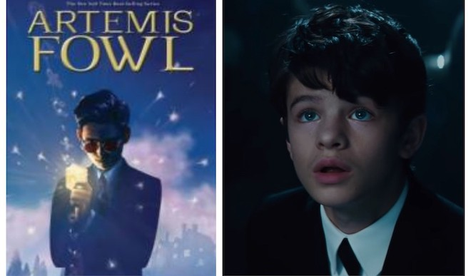 Contest: Artemis Fowl VS Artemis Fowl