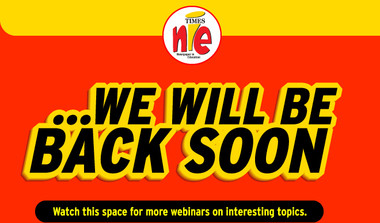 Times NIE Webinars: Watch This Space