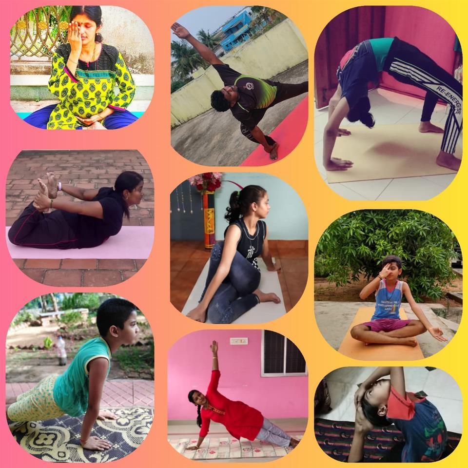 International Yoga Day at Air Force School, Avadi