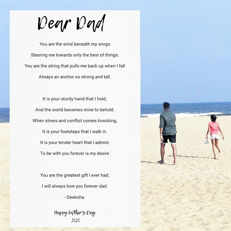 An ode to my father by Deeksha