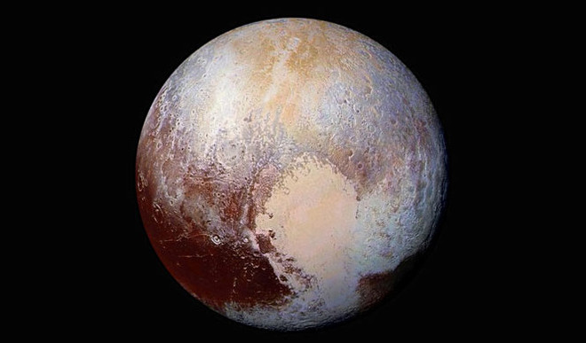 Pluto May Have Started Hot