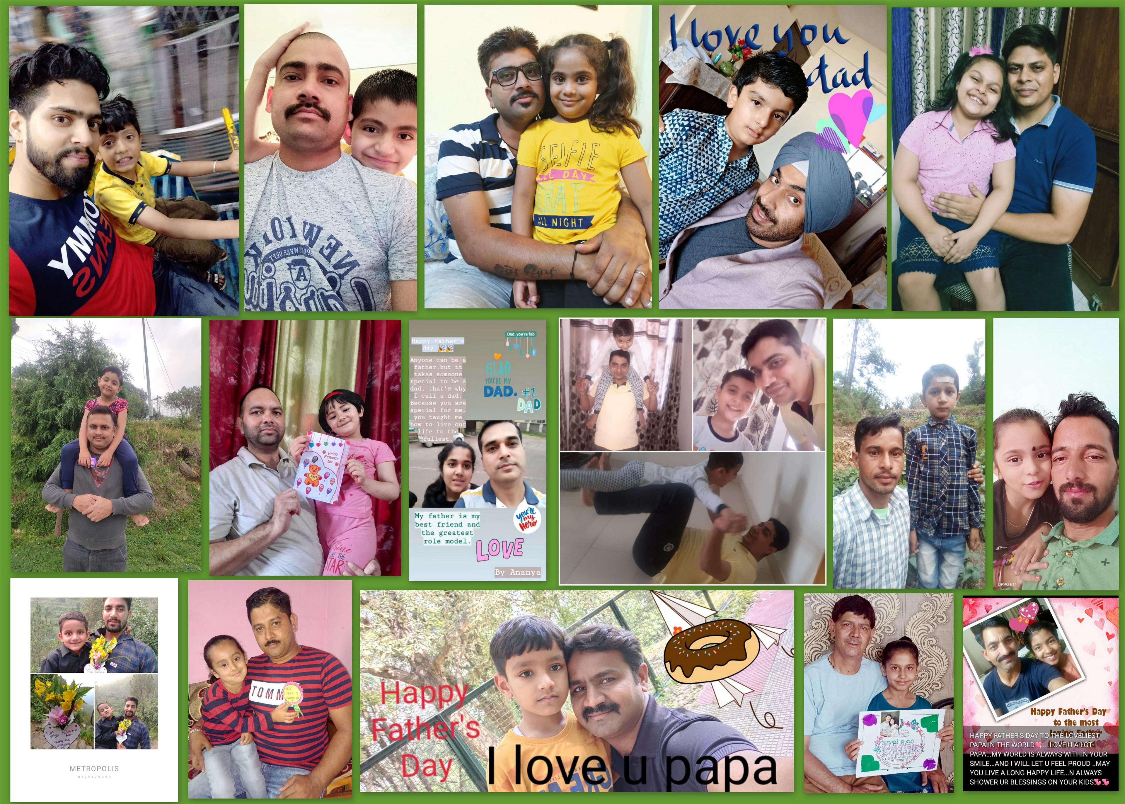 Dagshai kids share favourite memories spent with dads