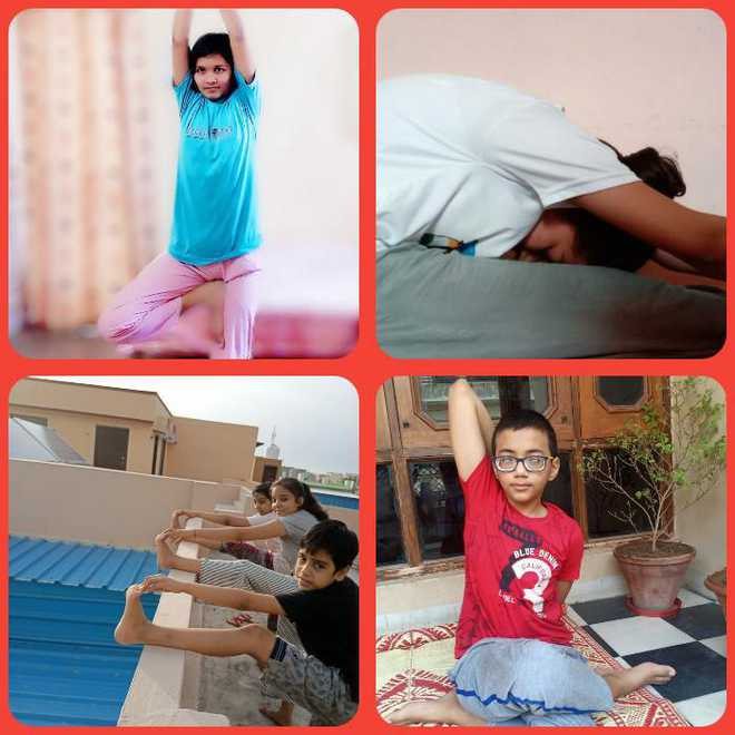 Headmistress sheds light on link between yoga & healthy life
