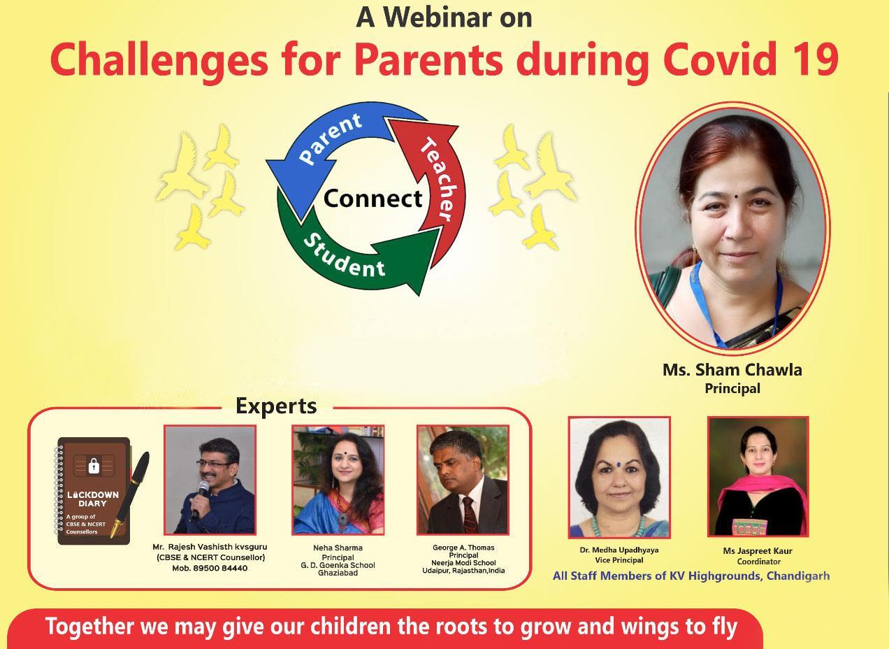 Parents attend webinar on dealing with children & stress