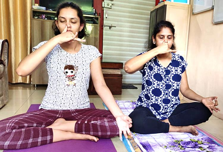 Yoga builds  healthy mind in a healthy body