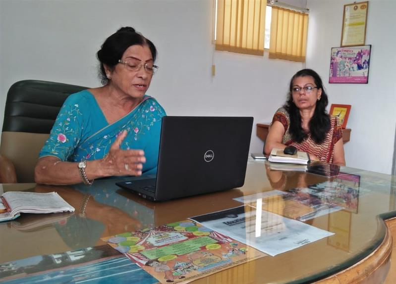 Orientation session on how parents can assist wards with e-learning