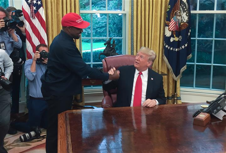 Kanye West: Game For US Presidency