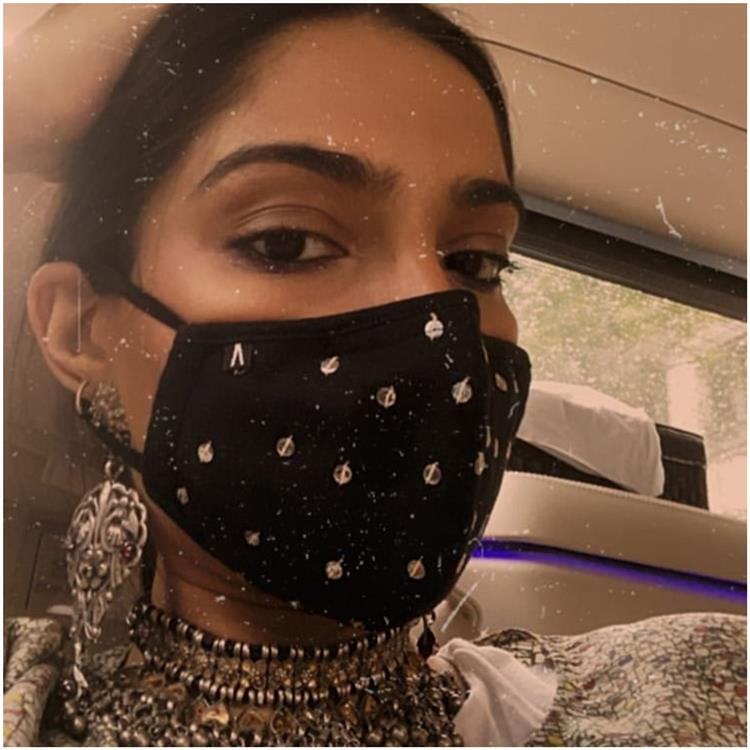 Sonam Kapoor 'Masks Up' In Style