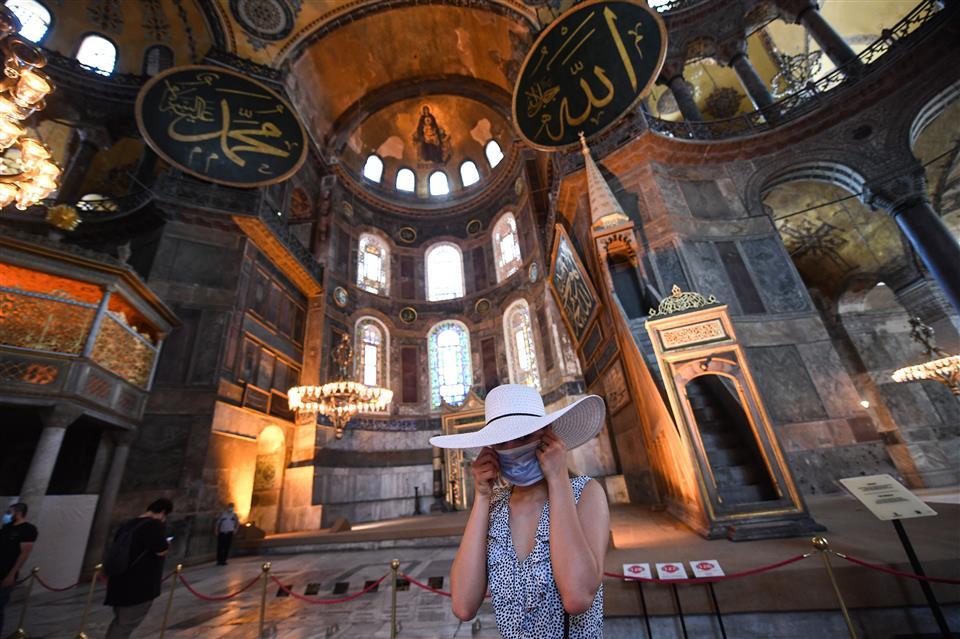 Hagia Sophia: Museum To Now A Mosque