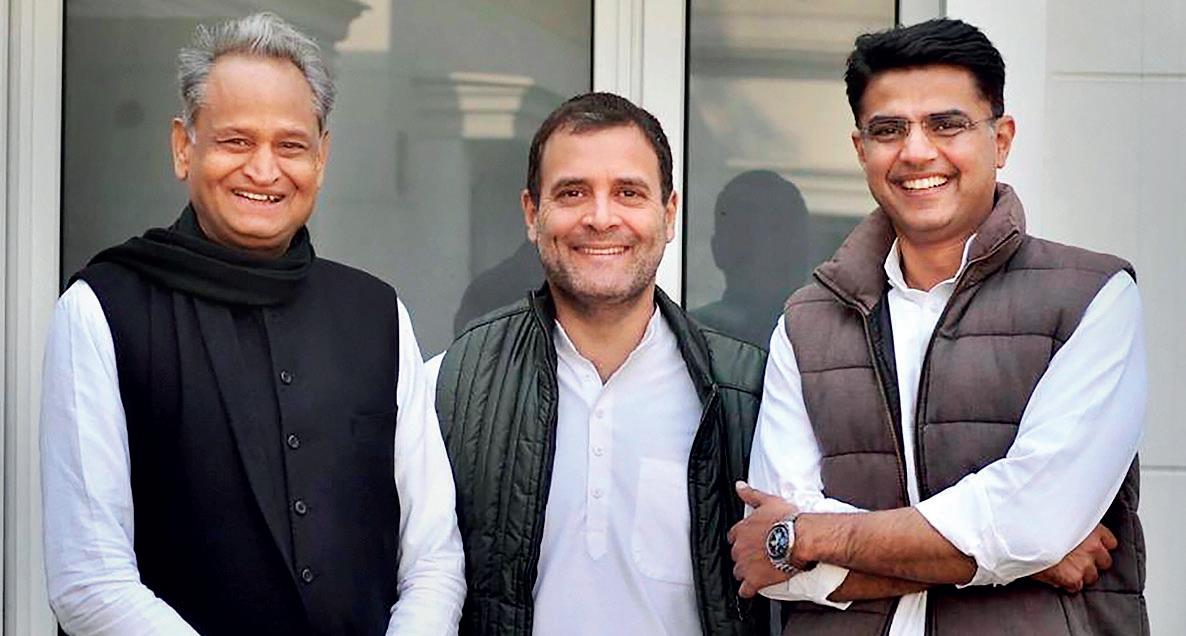 Rajasthan 'Pilot' Test For Cong?