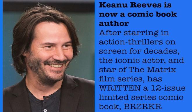 BRZRKR: Keanu Reeves' Comic Book