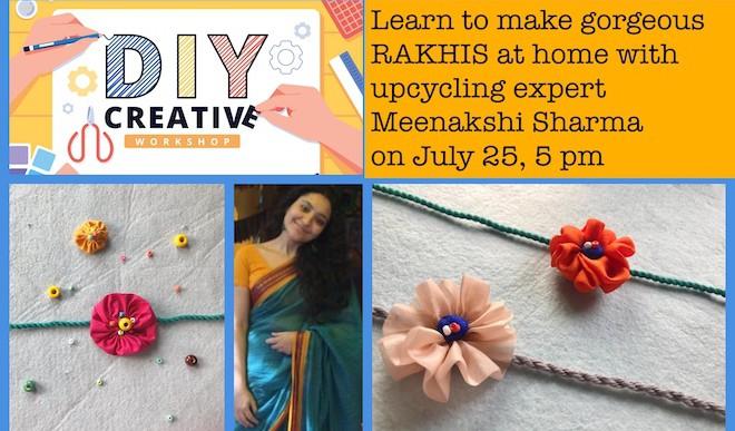 Workshop: Upcycled Rakhis At Home